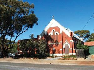 A recent photo of what was St Paul's Presbyterian Church in Northam