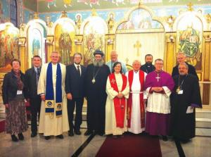 Australian Heads of Churches demonstrate Christian unity at the National Council of Churches in Australia Forum.