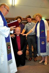 The Induction of Rev Nich Cole and the Commissioning of Richard Telfer at Trinity North Uniting Church.